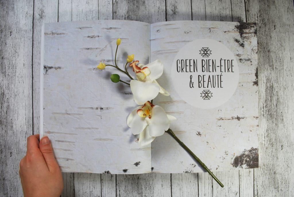 Le livre Super Green de Mamzelle Emie (Emilie Hebert)