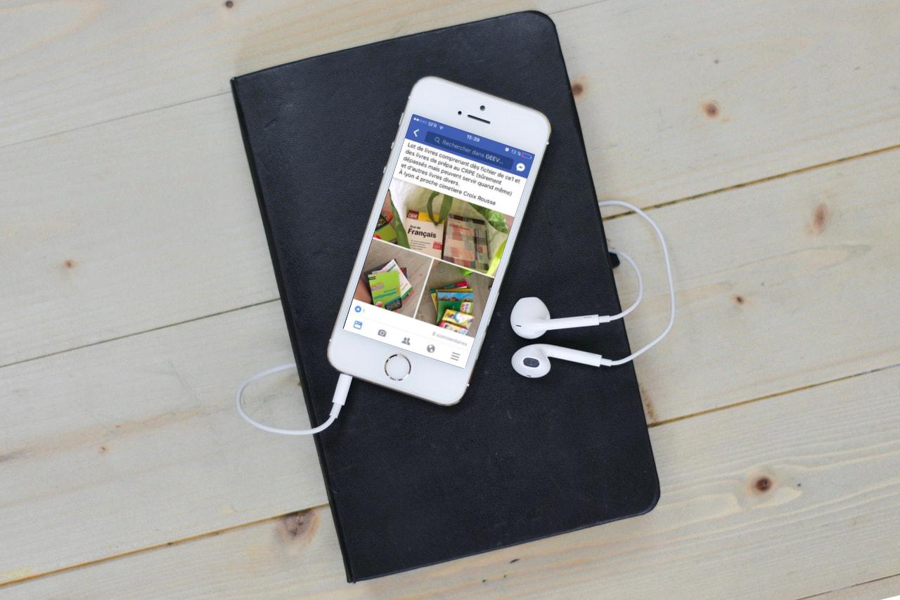 application geev : dons gratuits d'objets entre particuliers