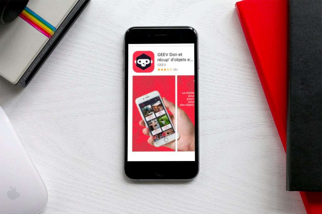 application mobile GEEV Dons et récup' d'objets