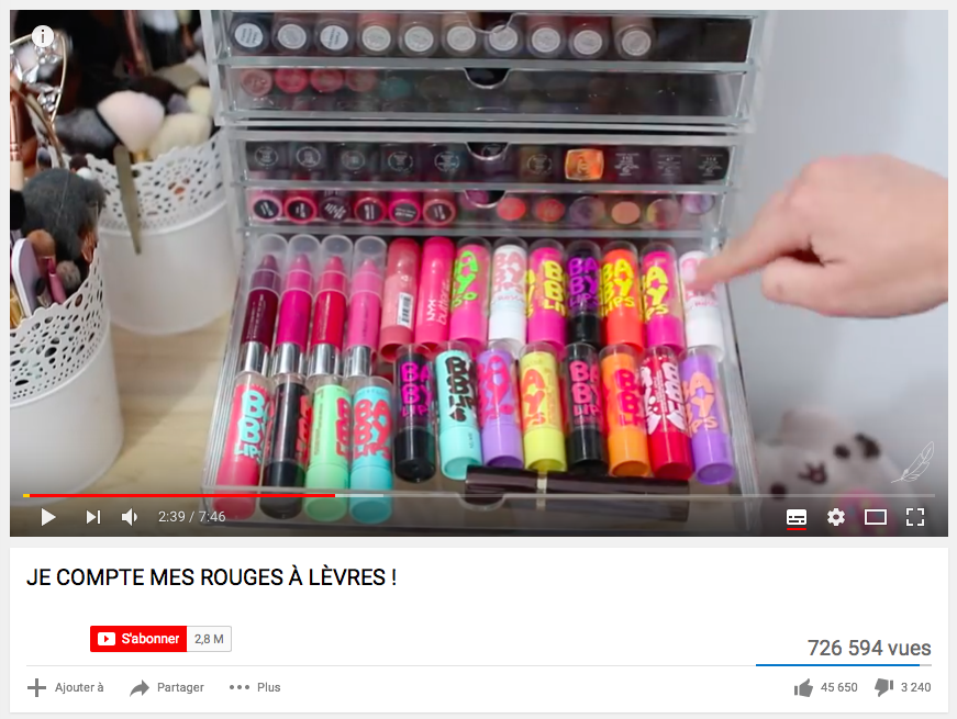 youtubeuses-beaute-surconsommation