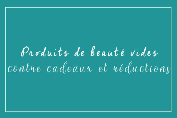 Recycler ses produits de beauté vides : engagement marques