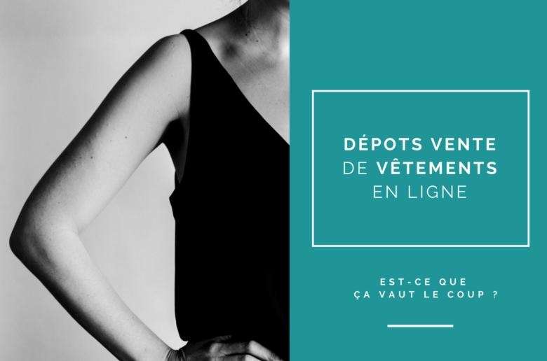 dépôt vente de vêtements en ligne