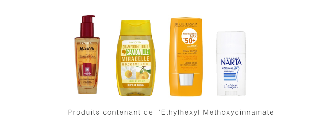 Perturbateurs endocriniens - cosmetiques - Ethylhexyl Methoxycinnamate
