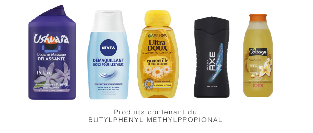 perturbateurs endocriniens cosmétiques butylphenyl methylpropional