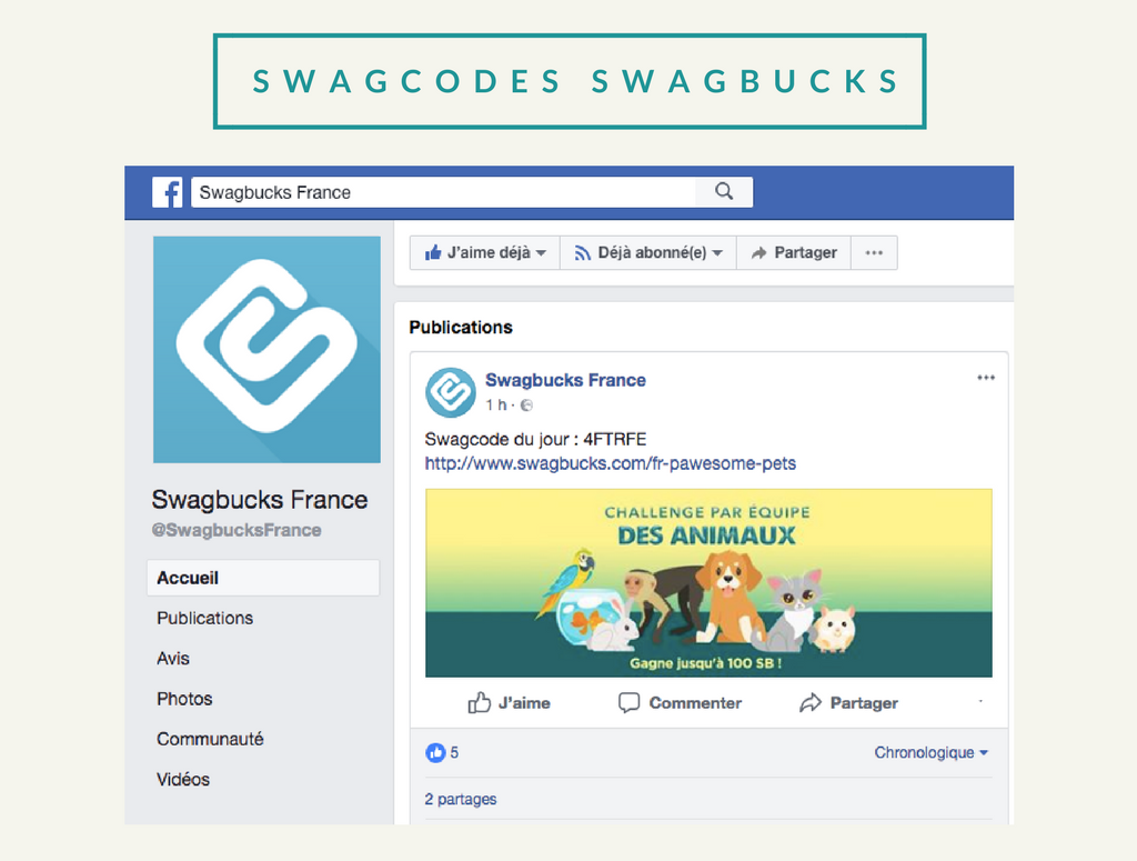 SWAGBUCKS AVIS SWAGCODE