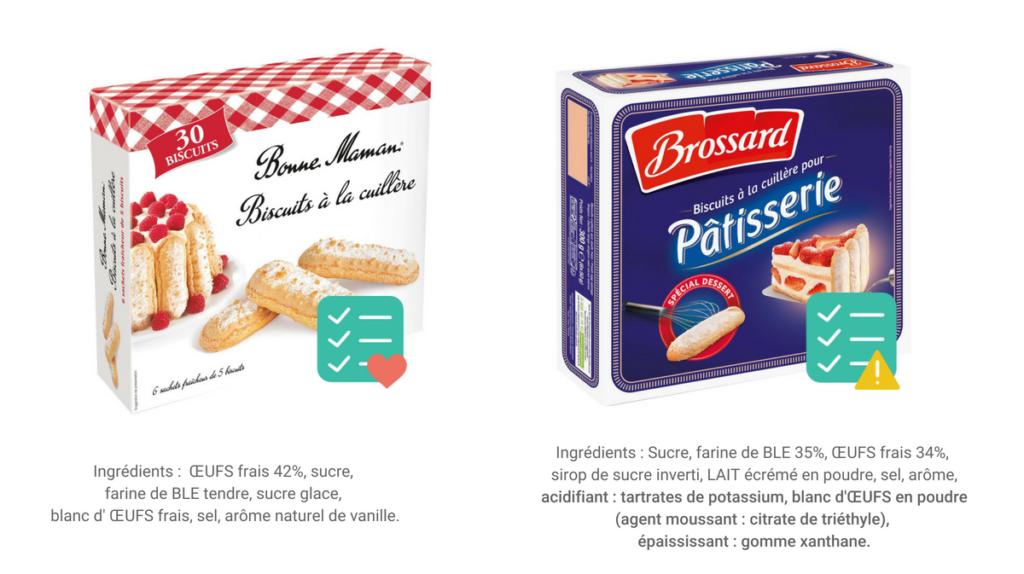 gâteaux industriels sans additifs alimentaires