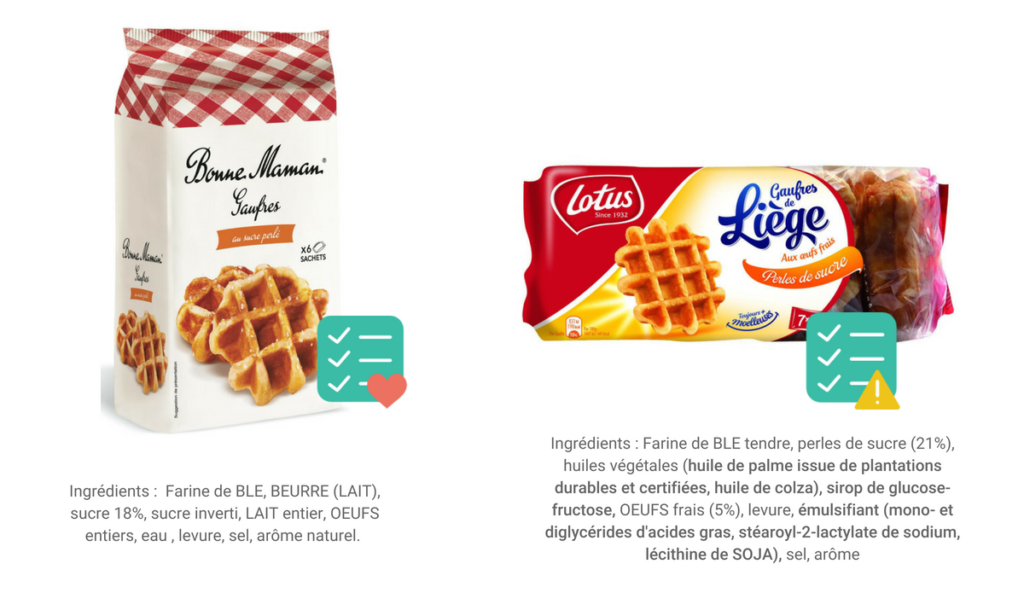 biscuits industriels sans additifs alimentaires