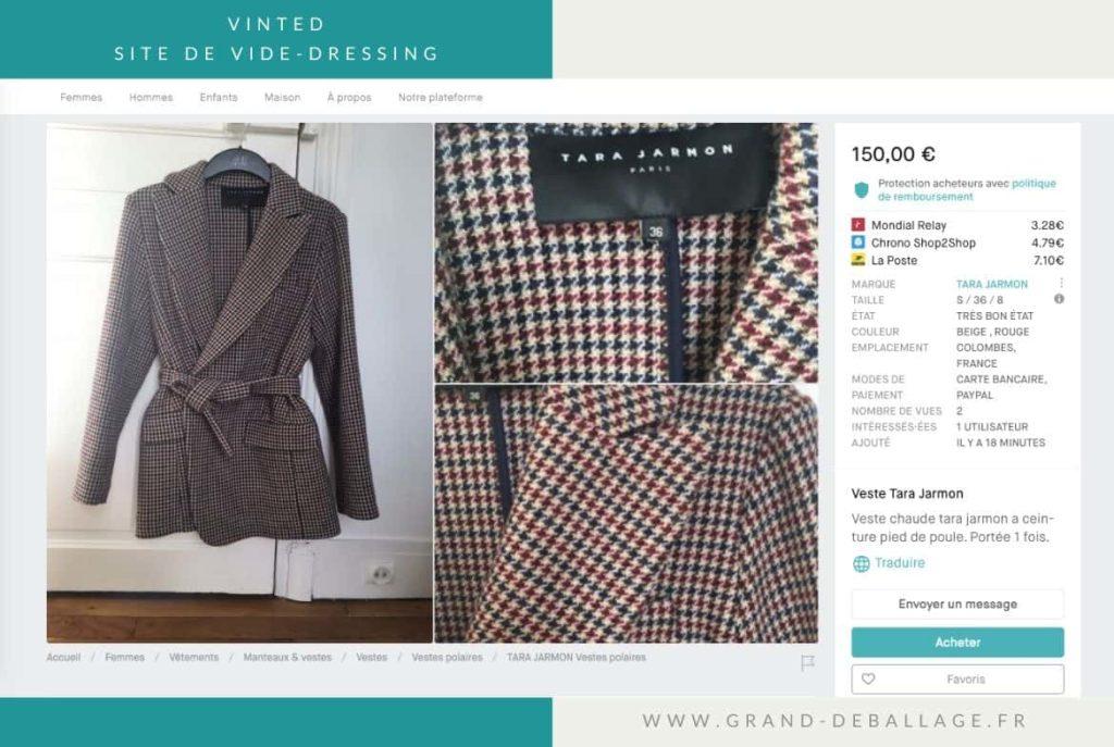site-vinted-vide-dressing-avis
