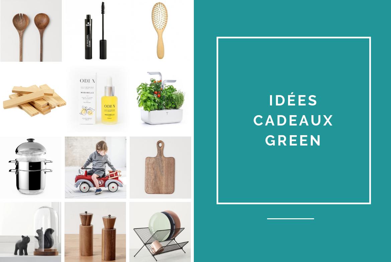 selection de cadeaux green ecolo pour noel