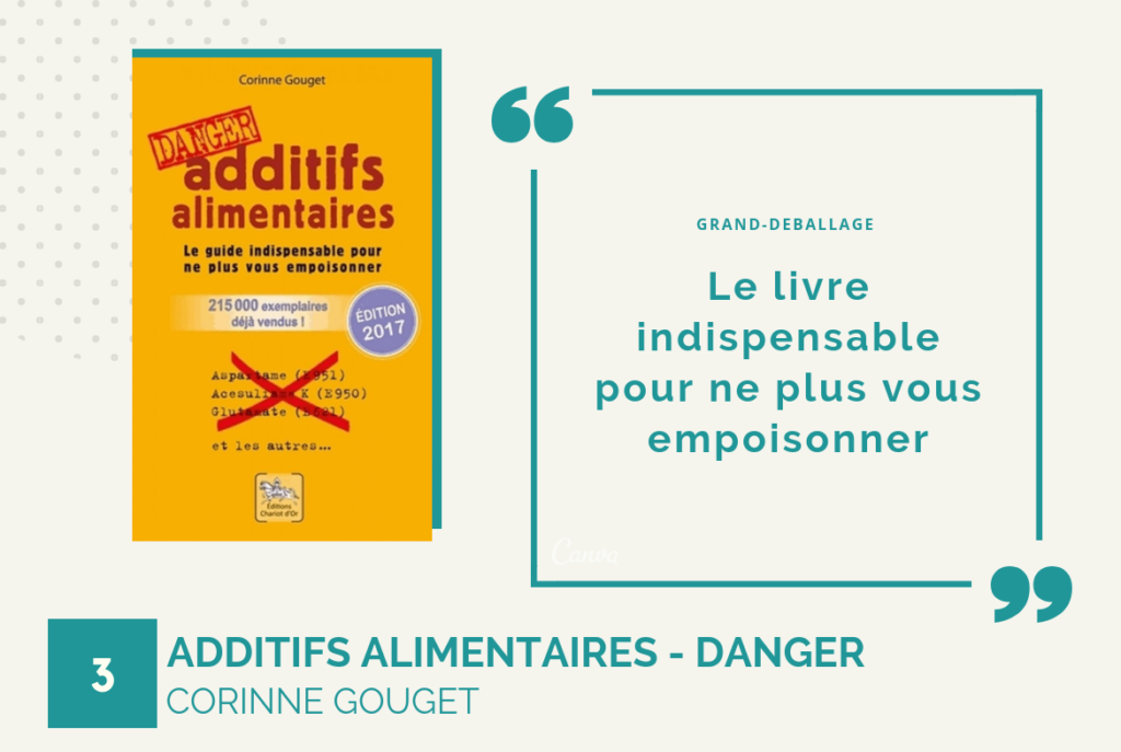Guide additifs alimentaire pour manger plus sainement