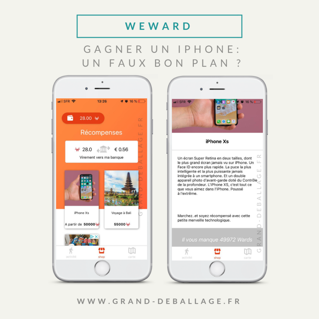 mon avis sur l'application we ward