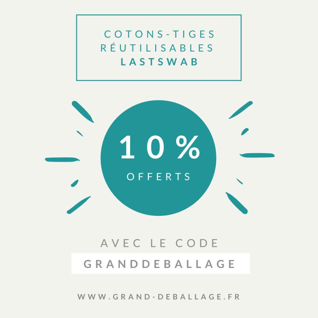 code-promo-lastswab-coton-tige