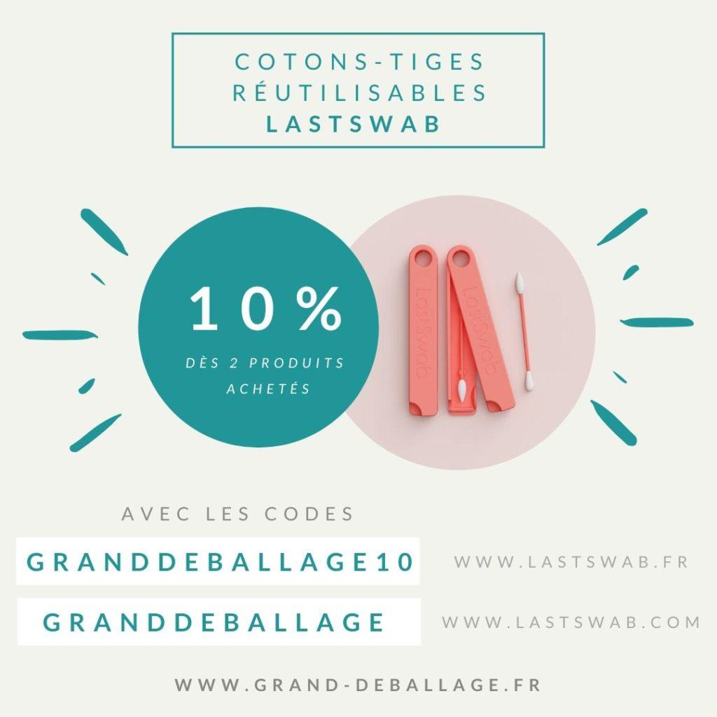 code-promo-lastswab-coton-tige-reutilisable