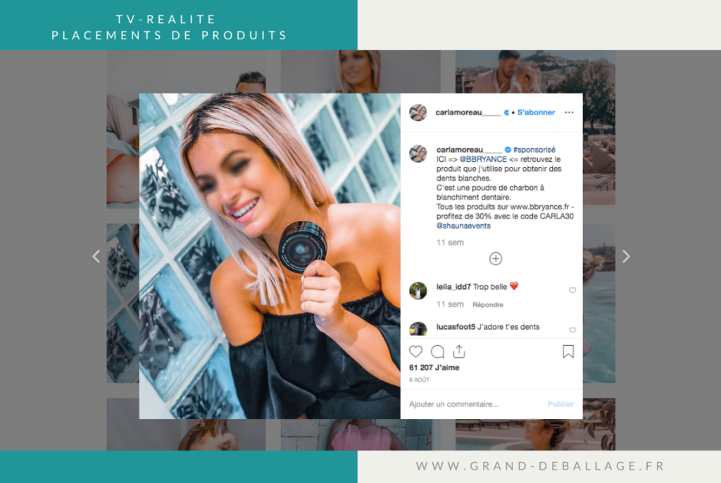 placement-produit-tele-realite-instagram