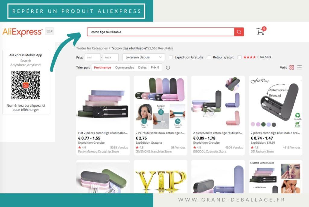 recherche-aliexpress-produit