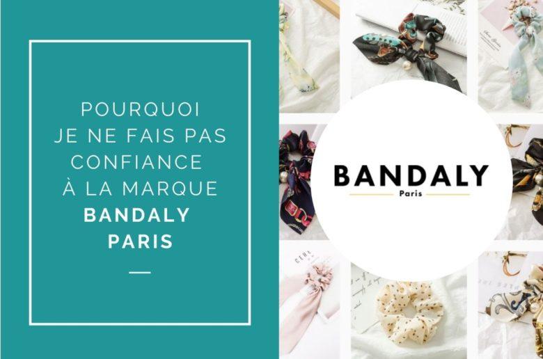 mon avis sur la marque de foulards bandaly paris
