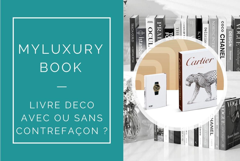 contrefacon livres deco luxe