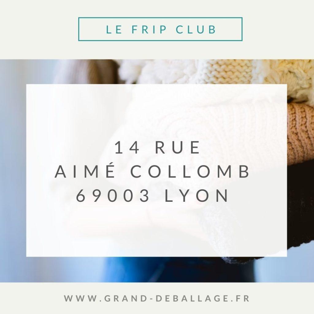 MON AVIS SUR LE FRIP CLUB LYON
